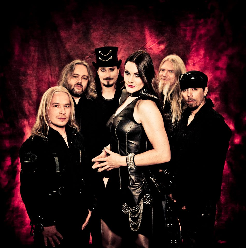 Fervor and delight for nightwish metal band concert at for Floor nightwish